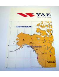 Yaesu World Map